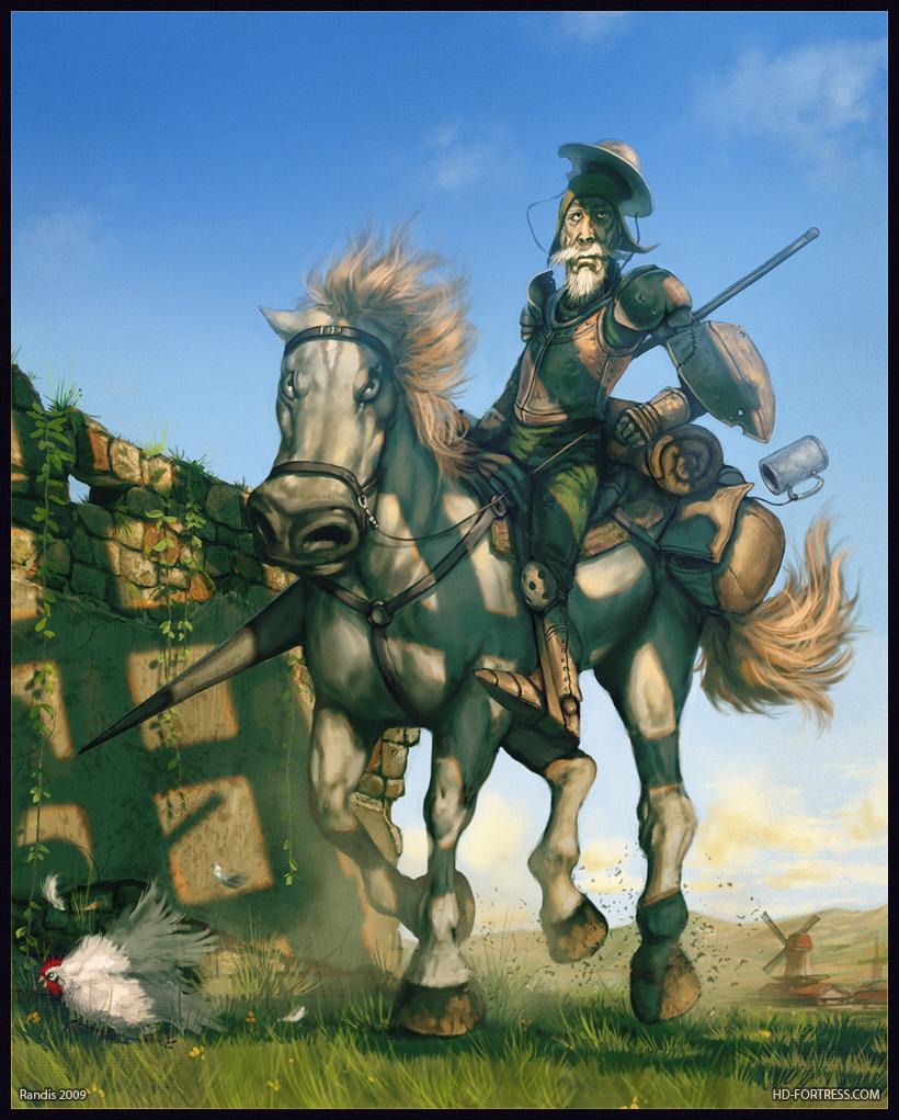 Wonderful Wallpaper Horse Deviantart - don-quixote  Trends_65341.jpg